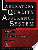 The Laboratory Quality Assurance System