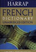 Harrap French Dictionary