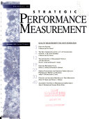 Journal of Strategic Performance Measurement