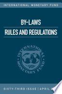 By Laws  Rules and Regulations  2016 Book