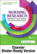 Nursing Research - E-Book Pdf/ePub eBook