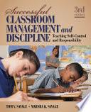 Successful Classroom Management and Discipline