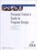 Personal Trainer's Guide to Program Design