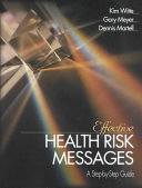Effective Health Risk Messages