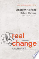 Real Change for Students Book PDF