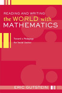 Reading and Writing the World with Mathematics