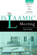 The Islaamic Meeting  How to Plan and Attend