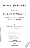 Pillow problems  thought out during wakeful hours