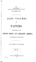 Votes And Proceedings Of The Legislative Assembly