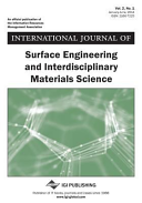 International Journal of Surface Engineering and Interdisciplinary Materials Science  IJSEIMS   Book