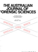 The Australian journal of forensic sciences