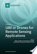 UAV or Drones for Remote Sensing Applications Book