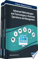 Advanced Methodologies and Technologies in Business Operations and Management Book
