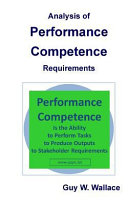 Analysis of Performance Competence Requirements