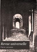 Revue universelle
