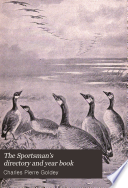 The Sportsman S Directory And Year Book