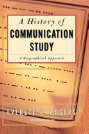 Cover of History Of Communication Study