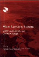 Water Resources Systems  water Availability and Global Change