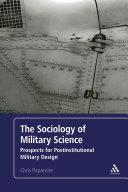 The Sociology of Military Science Pdf/ePub eBook