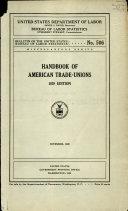 Handbook of American Trade unions