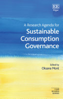 A Research Agenda for Sustainable Consumption Governance Pdf