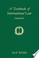 A Textbook of International Law