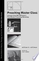 Preaching Master Class Book