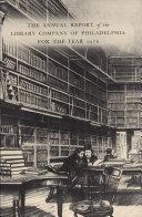Library Company of Philadelphia: 1976 Annual Report [Pdf/ePub] eBook