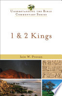 1 2 Kings Understanding The Bible Commentary Series