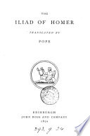 The Iliad  tr  by Pope