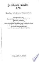 Jahrbuch Frieden