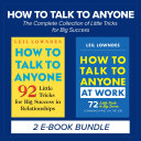 How To Talk To Anyone The Complete Collection Of Little Tricks For Big Success Book PDF