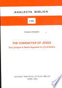The Character of Jesus Book