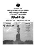 Proceedings of the     ACM SIGPLAN Symposium on Principles   Practice of Parallel Programming