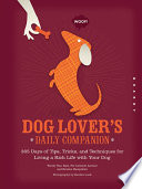 Dog Lover s Daily Companion Book PDF