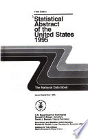 Statistical Abstract of the United States Book PDF