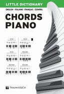 Little dictionary. Chords piano