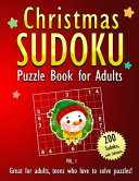 Christmas Sudoku Puzzle Book for Adults