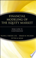 Financial Modeling of the Equity Market Book