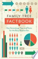 Family Tree Factbook Book