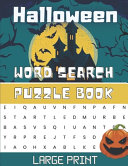 Halloween Word Search Puzzle Book Large Print