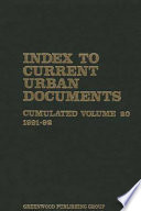 Index Current Urban Doc