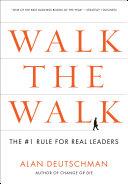Walk the Walk Book