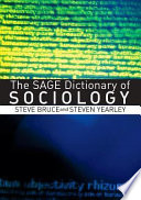 The Sage Dictionary Of Sociology Book PDF