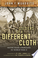 Soldiers of a Different Cloth Book