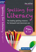 Spelling for Literacy for ages 6 7