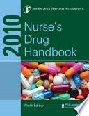 """2010 Nurse's Drug Handbook"" by & Bartlett Jones, Jones and Bartlett Publishers"