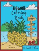 Hawaii Coloring Book
