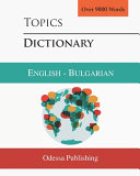 Topics Dictionary English   Bulgarian