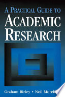 A Practical Guide To Academic Research Book PDF